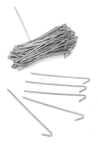 6-1/2 in. 9-Gauge Aluminum Chain Link Fence Ties (100-Pack)