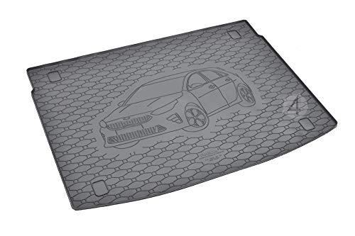 Passgenau Kofferraumwanne geeignet für KIA Ceed Hatchback ab 2018 ideal angepasst schwarz Kofferraummatte