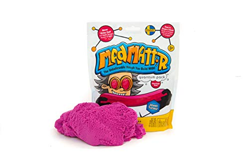 MAD MATTR Jewel Tones by Relevant Play - Soft Modelling Dough Compound That Never Dries out, 10 Ounces (Flamingo Pink, 10oz)