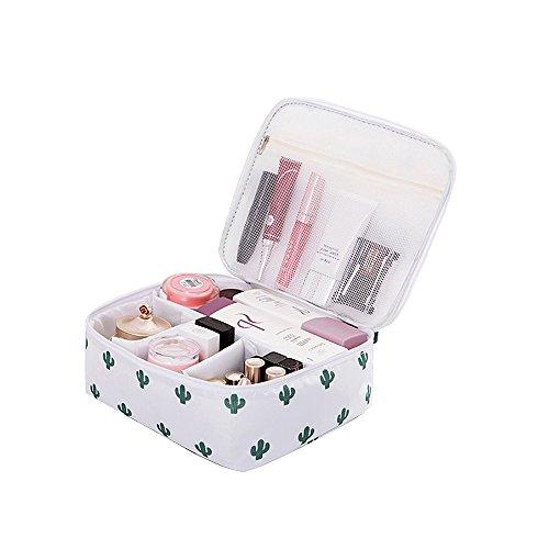 Toiletries Bag Zipper Storage Pouch Portable Women Travel Cosmetic Bag