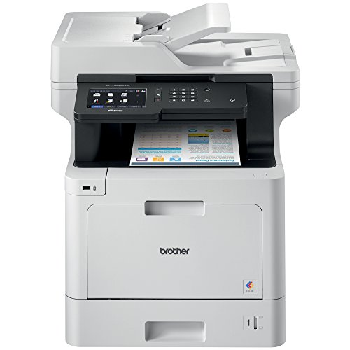 Best Prices! Brother MFC-L8900CDW Business Color Laser All-in-One Printer, Advanced Duplex & Wireles...