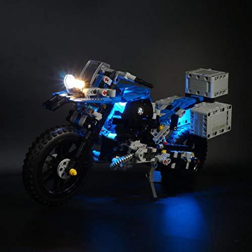 Dittzz LED Licht-Set für Baustein Spielzeug, Beleuchtungsset Kompatibel mit Lego Technic 42063 - BMW R 1200 GS Adventure (Modell Nicht Enthalten)