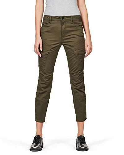 G-STAR RAW Rovic Mid Skinny Women's Trousers - Green - 8