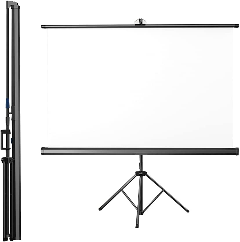 Projection Screen Punch-Free Office Curtain HD Home Outdoor Office Projector Cloth Proportion Compatible