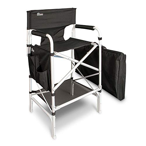 Earth Heavy Duty VIP Tall Aluminum Director Chair