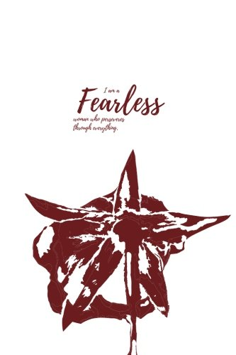I am a fearless woman who perseveres through anything (Notebook): A Happiness Recharge Notebook download ebooks PDF Books