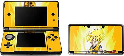 Skinit Decal Gaming Skin Compatible with 3DS 2011 Officially Licensed Dragon Ball Z Super Saiyan product image