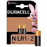 Duracell Pilas especiales alcalinas N de 1.5V, paquete de 2 unidades E90/LR1, diseñadas para su uso en linternas, calculadoras y luces de bicicleta