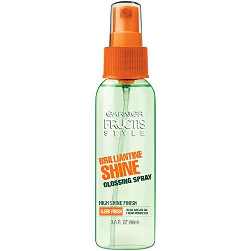 Garnier Fructis Style Brilliantine Shine Glossing Spray, Sleek , 3 fl. oz.