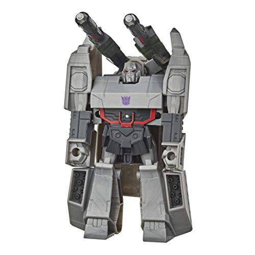 Hasbro Transformers - Megatron (Action Figure 10,5 cm, trasformabile in una mossa, serie Action Attackers, ispirato alla serie Cyberverse Adventures)