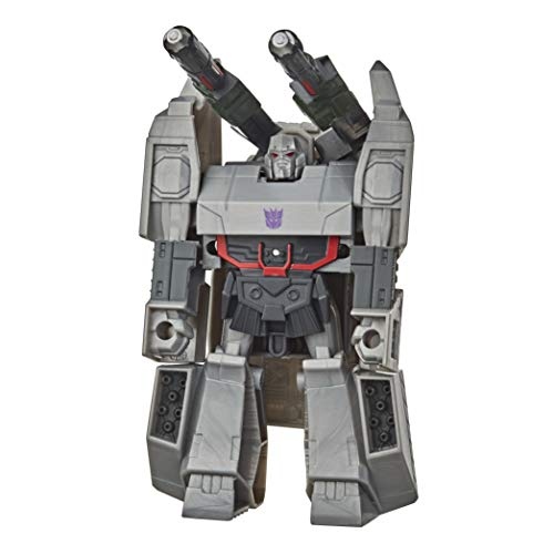 Transformers NO Bumblebee Cyberverse Adventures Action Attackers: 1-Step Changer Megatron, Action-Figur für Kinder ab 6 Jahren, 10,5 cm