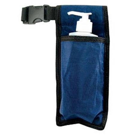 NRG按摩皮套 - 单按摩油,乳液和奶油瓶皮套 - 持有8盎司的瓶子 -  50寸长可调带 - 耐用的尼龙面料 - 可清洗 - 颜色:海军