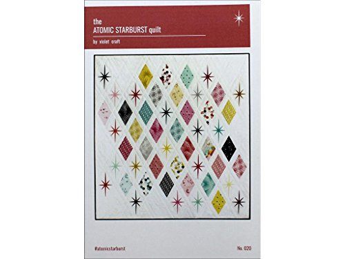 Violet Craft VCR020 The Atomic Sunburst Quilt Pattern