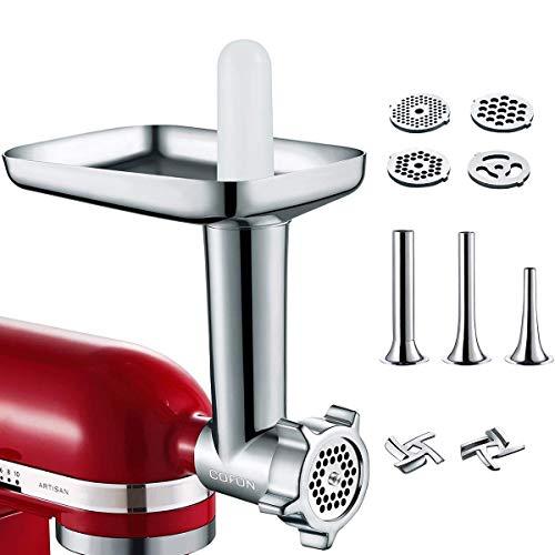 Accesorio para picadora de carne de aluminio para robot de cocina KitchenAid EUC1905
