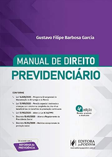 Manual De Direito Previdenciário - 4ª Edição (2020)