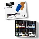 Liquitex Professional Gouache acrílico extrafino viscocidad baja, set colores esenciales 12 x 22 ml