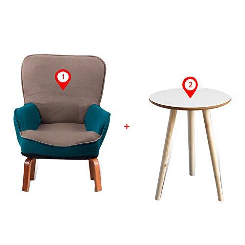 Fauteuils inclinables Tatami bébé petit canapé mini lecture chaise de lecture maternelle enfants paresseux canapé chaise pliante chaise canapé pliant, canapé 1 + table basse 1