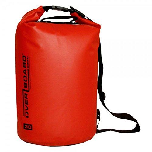 OverBoard sac de voyage imperméable 30 l (rouge)