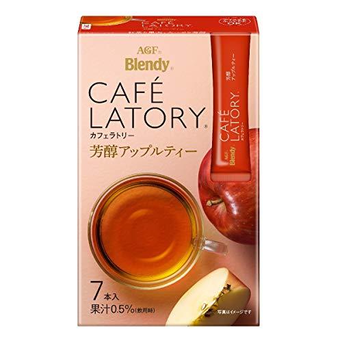 AGF ブレンディ カフェラトリー スティック 芳醇アップルティー 7本×6箱 【 フルーツティー 】【 紅茶 スティック 】