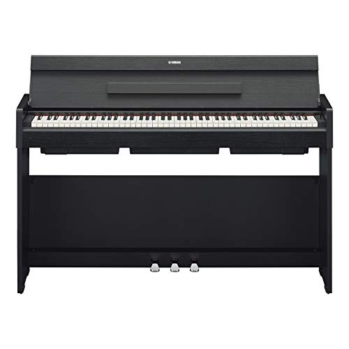 Yamaha Arius Digital Piano YDP-S34B, schwarz – Modernes E-Klavier mit Hammermechanik, Konzertflügel-Klang & USB-to-Host-Anschluss – Kompatibel mit kostenloser App