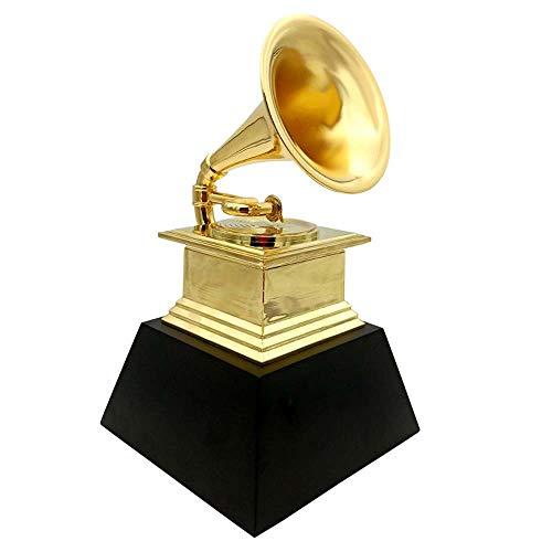 GAL Exquisite Gramophone Trophäe Horn Handwerk Barzubehör Raum Verzierungen Leben 230MM