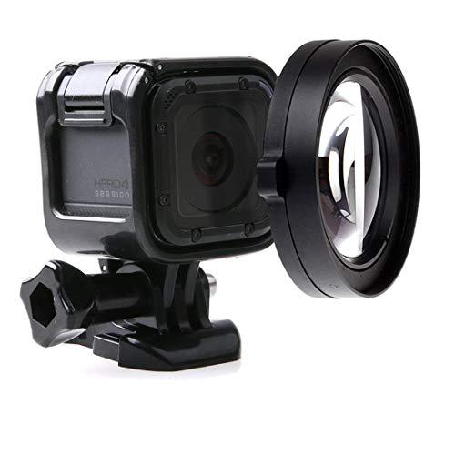 GGAOXINGGAO Filtro de Lente de cámara Lente Macro HD de 58 mm con Anillo Adaptador for GoPro HERO5 Session / HERO4 Session Accesorios de Lentes