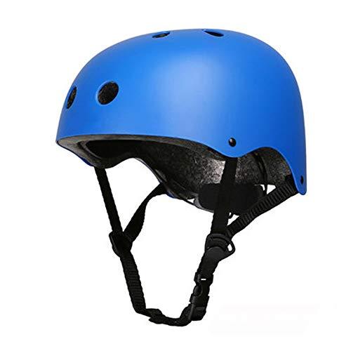 Crash Helm Roller Schaatsen Helm, Kinderen 2-6 Jaar Oude Skateboarden Schaatsen Anti-val Helm Blauw
