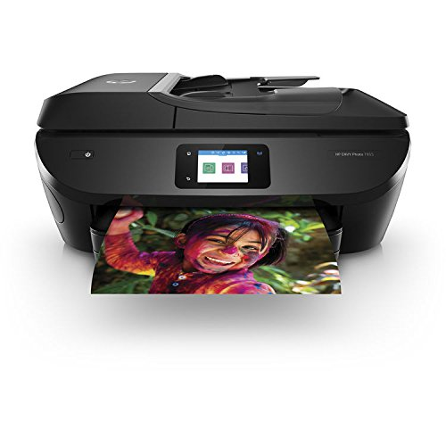 HP Envy Photo 7855 All-in-One Printer with Wireless Direct Printing (Renewed)