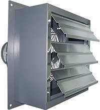 Canarm Wall Exhaust Fan - Single-Speed, 24in. 1/3 HP, 5000 CFM, Model Number SD24-F1