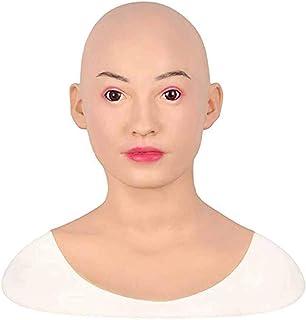 Masque De Latex R/éaliste pour La Robe De Soir/ée dhalloween Vieille Dame tytlmask Masque De Dame en Caoutchouc