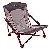 ALPS Mountaineering Rendezvous Chair, Salsa/Charcoal (Renewed)