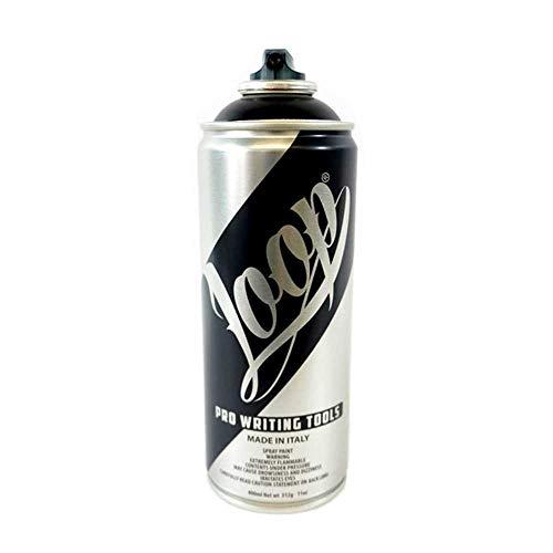 Loop Graffiti Spray Paint, Art Spray Paint with Low VOC, Acrylic Spray Paint, Non Toxic Spray Paint,Quick Dry, Blue, Venezia, 400 ml