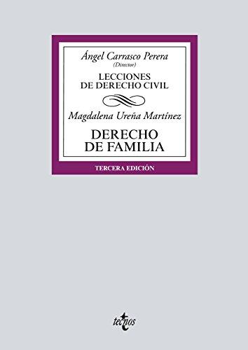 Derecho de Familia: Lecciones de Derecho Civil (Derecho - Biblioteca Universitaria de Editorial Tecnos)
