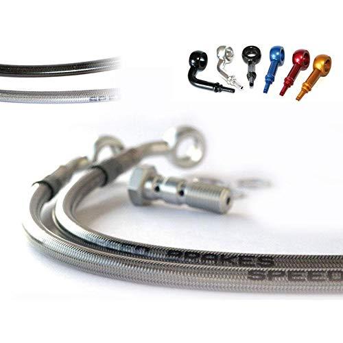 3523129 – Manguera de freno delantero INOX/racor aluminio MT-07