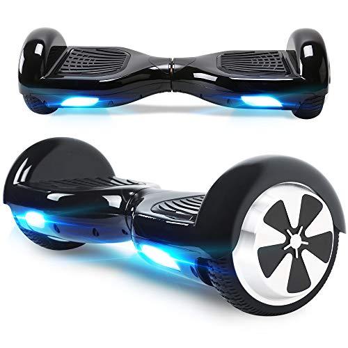 """BEBK Hoverboard 6.5"""" Smart Self Balance Scooter Elettrico Autobilanciato con LED, 2 * 250W Motore"""