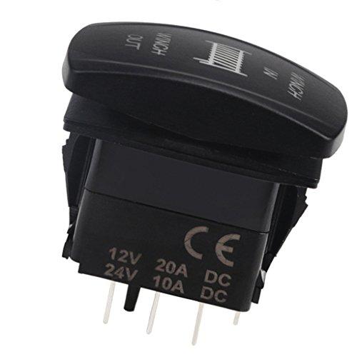 #N/a Interruptor de Barra de Luz LED ámbar de para Barco de Coche de 12V 20A a