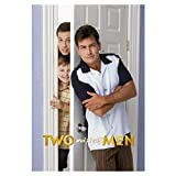 HJZBJZ Two And A Half Men Poster auf Leinwand, Wandkunst