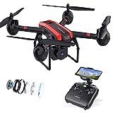 SANROCK X105W Drohne mit Kamera, FPV Drohne für Kinder mit HD Kamera,...