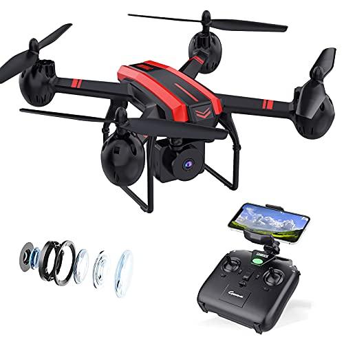 SANROCK X105W Drohne mit Kamera, FPV...