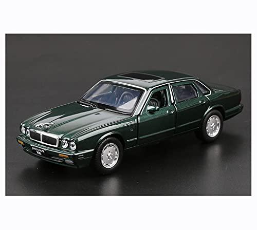 GYZS-TOY Modelo de coche 1:32/compatible con Jaguar XJ6/Pull Back de aleación de metal simulación vehículo coche vintage modelo decoración regalo (color: B)