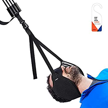 Vokka Neck Traction Hammock for Neck Pain Relief, Head Hammock