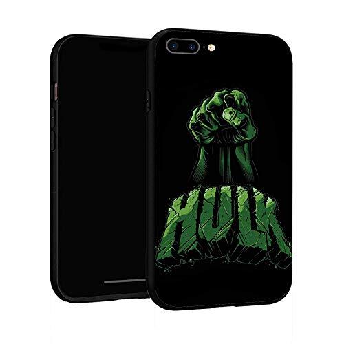 Funda para iPhone 7 Plus Funda 8 Plus, Funda básica de plástico para iPhone 7Plus / 8Plus (Hulk-3)