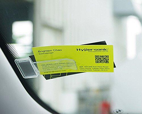 Hypersonic Windschutzscheibenhalter für Parkkarte/Parkausweis, Notiz-Clip, für Autos