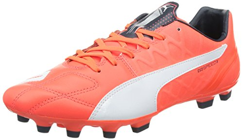 Puma Herren Evospeed 3.4 LTH AG Fußballschuhe, Orange (Lava Blast-White-total Eclipse 01), 43