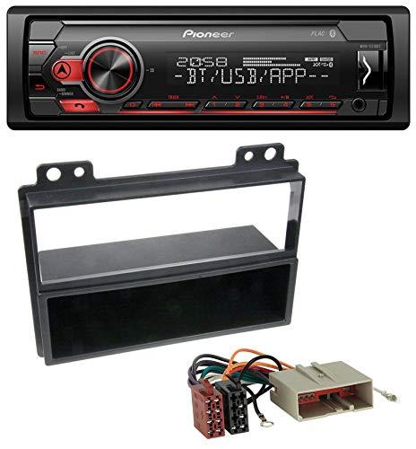 caraudio24 Pioneer MVH-S310BT Bluetooth AUX MP3 USB Autoradio für Ford Fiesta, Fusion (2002-2005)