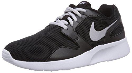 Nike Kaishi 654845 Damen Laufschuhe, Schwarz (Black/Metallic Platinum/White 011), 36.5 EU (3.5 Damen UK)
