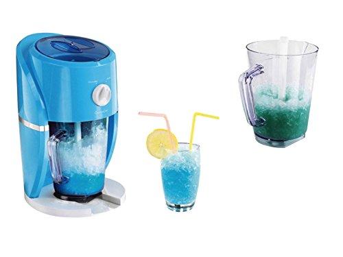 Picadora de hielo eléctrica y máquina para granizados 2 en 1, para hielo grueso y fino