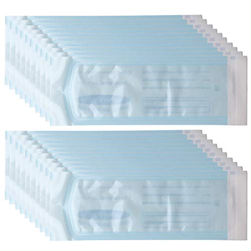 HEALLILY 200 Stück Sterilisationsbeutel Einweg-Autoklavenbeutel Autoklaven-Sterilisatorbeutel für Labor-Tattoo-Zahnarztpraxen Reinigungswerkzeuge