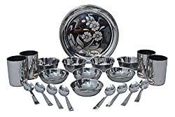 SAGER Platinum Collection 24 Piece Stainless Steel
