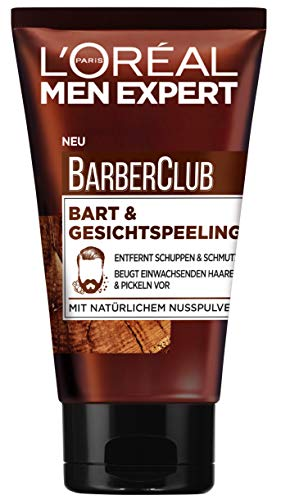 L'Oréal Men Expert Barber Club Bart & Gesichtspeeling, 100 ml